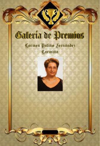 Premios de Carmen Patiño Fernández (Carmiña) Carmiz11