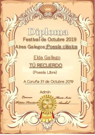 PREMIACIÓN DEL FESTIVAL DE OCTUBRE 2019 Elda14