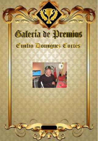 Premios de: Emilio Dominguez Cortés Emilio11
