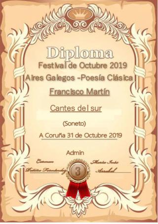 PREMIACIÓN DEL FESTIVAL DE OCTUBRE 2019 Franci13