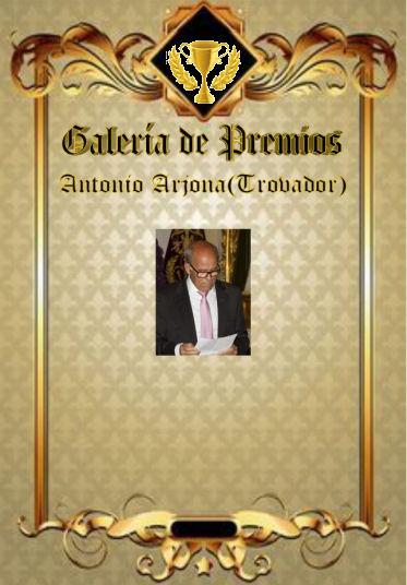 Premios de: Antonio Arjona Galerz11