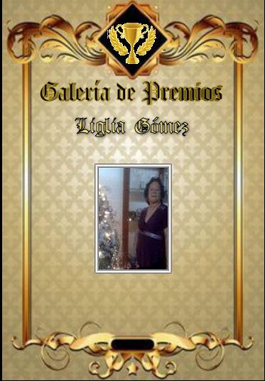 Premios de Ligia Gómez Ligia_11
