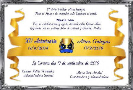 Premios de: María Lúa Marial10