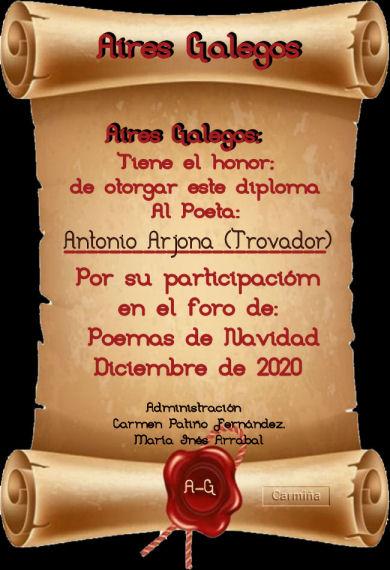 Premios de: Antonio Arjona Pergam13