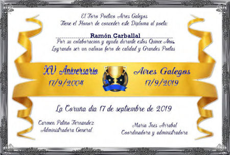 Premios de:Ramón Carballal Ramzn_12