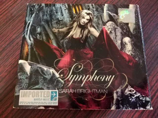 Sarah Brightman - Symphony CD (used) Img_2023