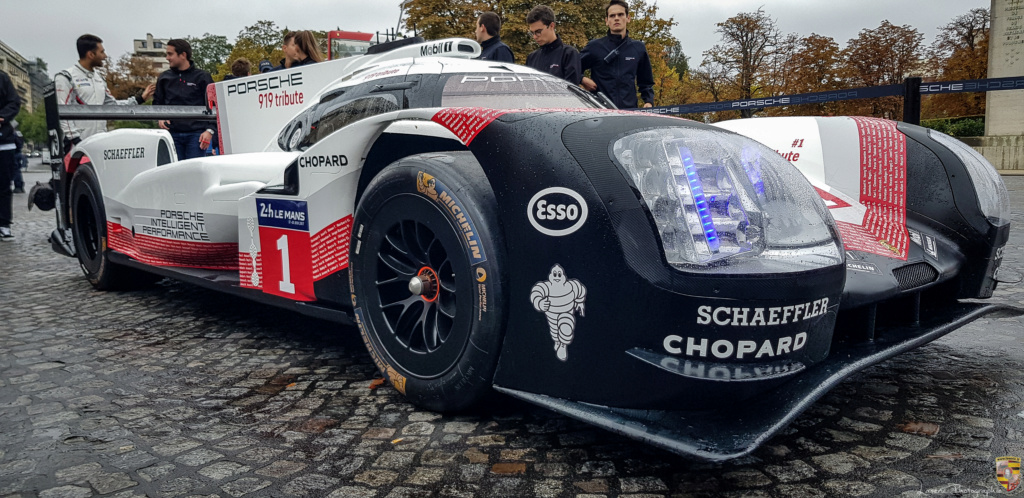 Porsche 919 Hybrid à Paris dimanche 7 octobre 20181014
