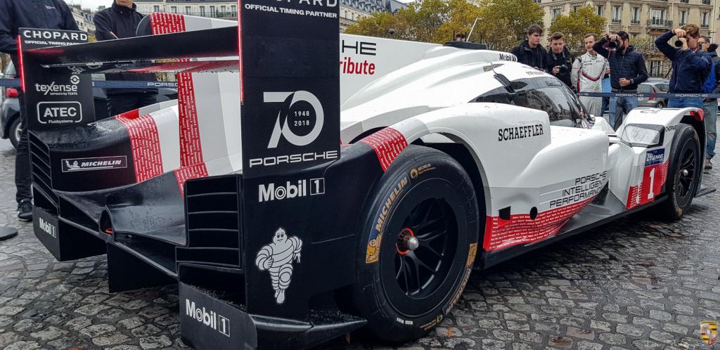 Porsche 919 Hybrid à Paris dimanche 7 octobre 20181015