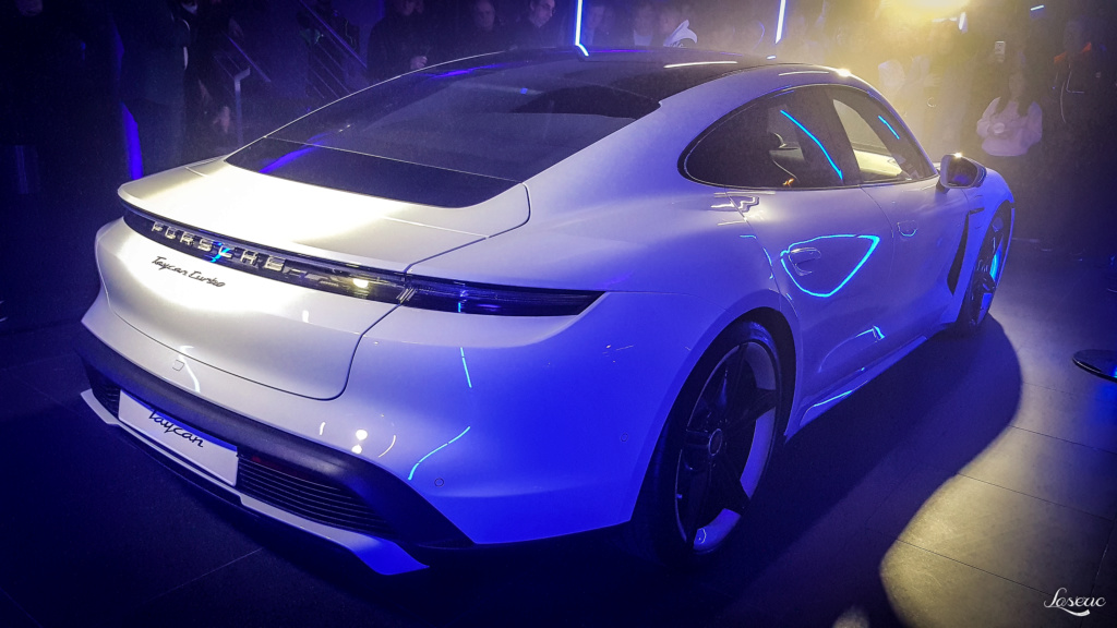 Présentation Porsche Taycan 20200211
