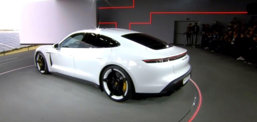 Porsche Taycan date officielle 2captu11
