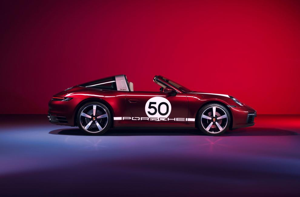 Porsche 911 Targa 4S Heritage Design Edition 5ed60210