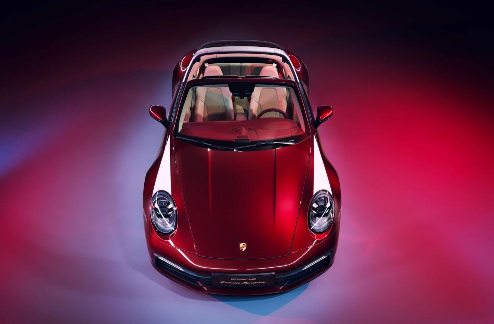 Porsche 911 Targa 4S Heritage Design Edition 5ed60213