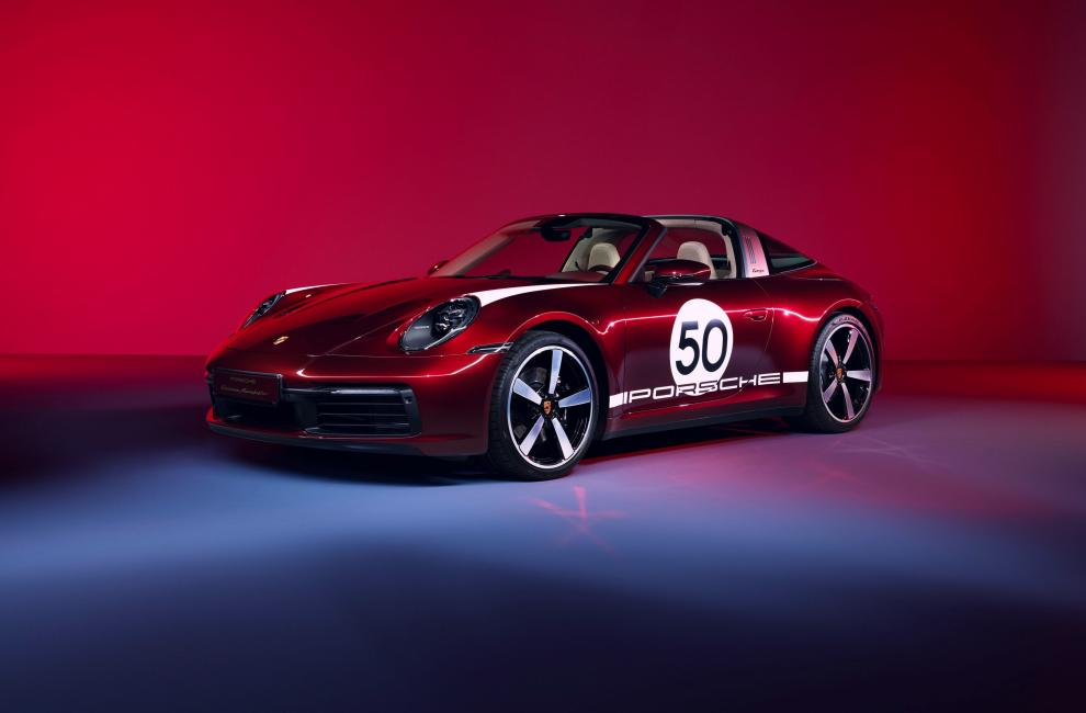 Porsche 911 Targa 4S Heritage Design Edition 5ed60216
