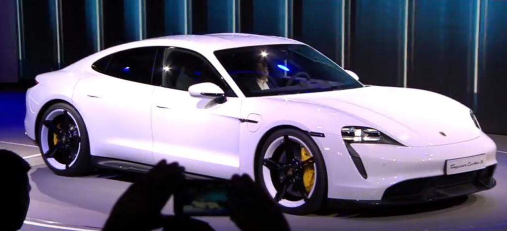Porsche Taycan date officielle Captur25