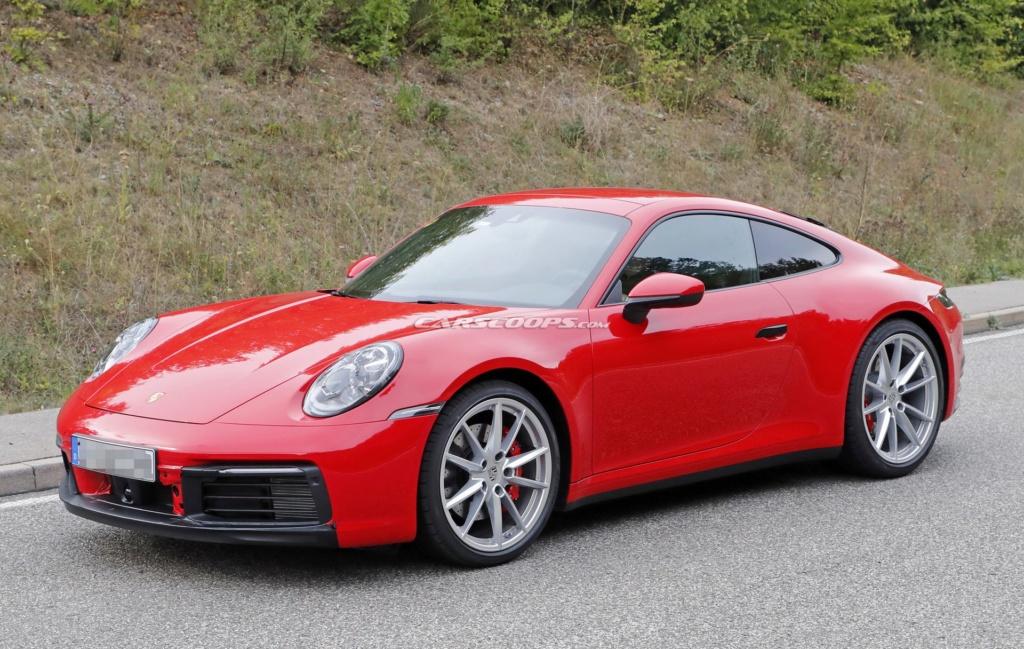 Porsche 992 photos E7416310