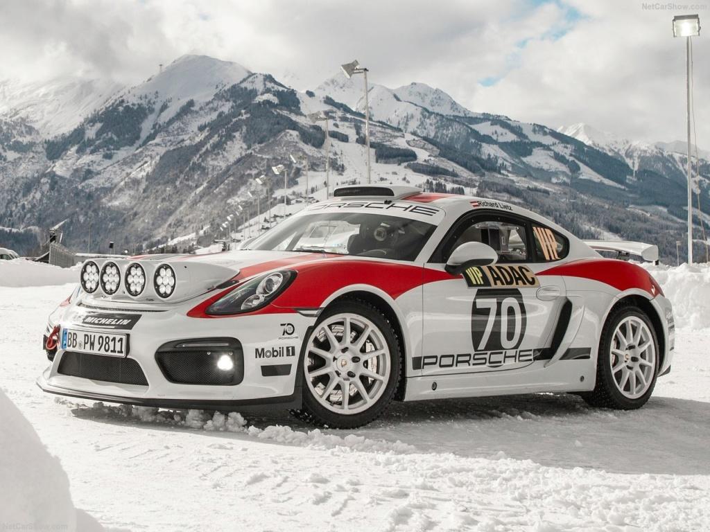 Porsche Cayman GT4 Rallye Concept Porsch24