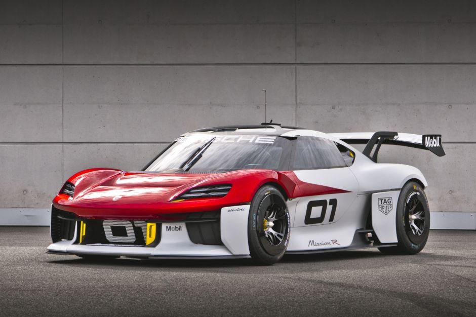 Porsche concept Mission R Porsch75
