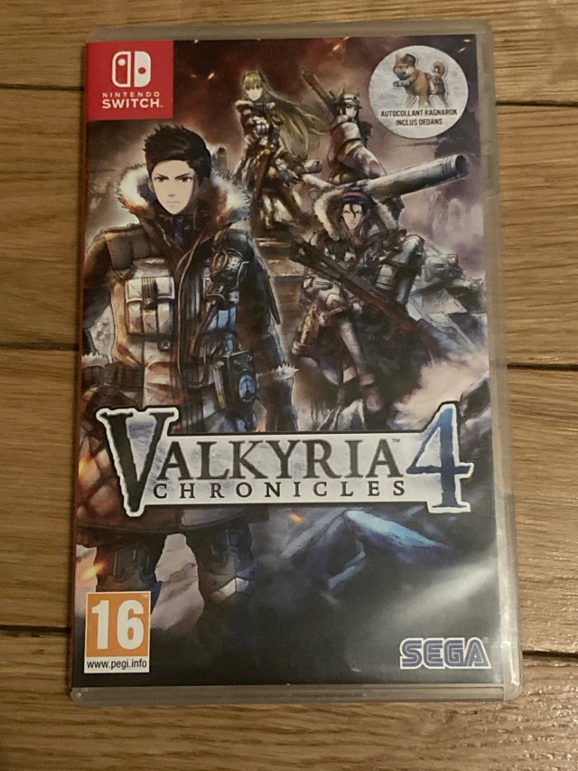 [VENDU] Jeu Nintendo Switch Valkyria Chronicles 4 Img_1710