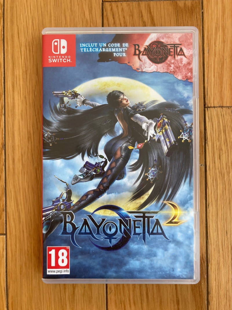 [VENDU] Jeu Switch Bayonetta 2 Img_1712