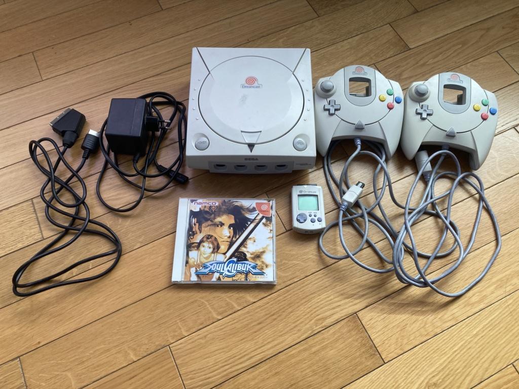 [VENDU] Console DREAMCAST JAP + 2 manettes + VMU + Soul Calibur + cable RGB + Alim Img_3228