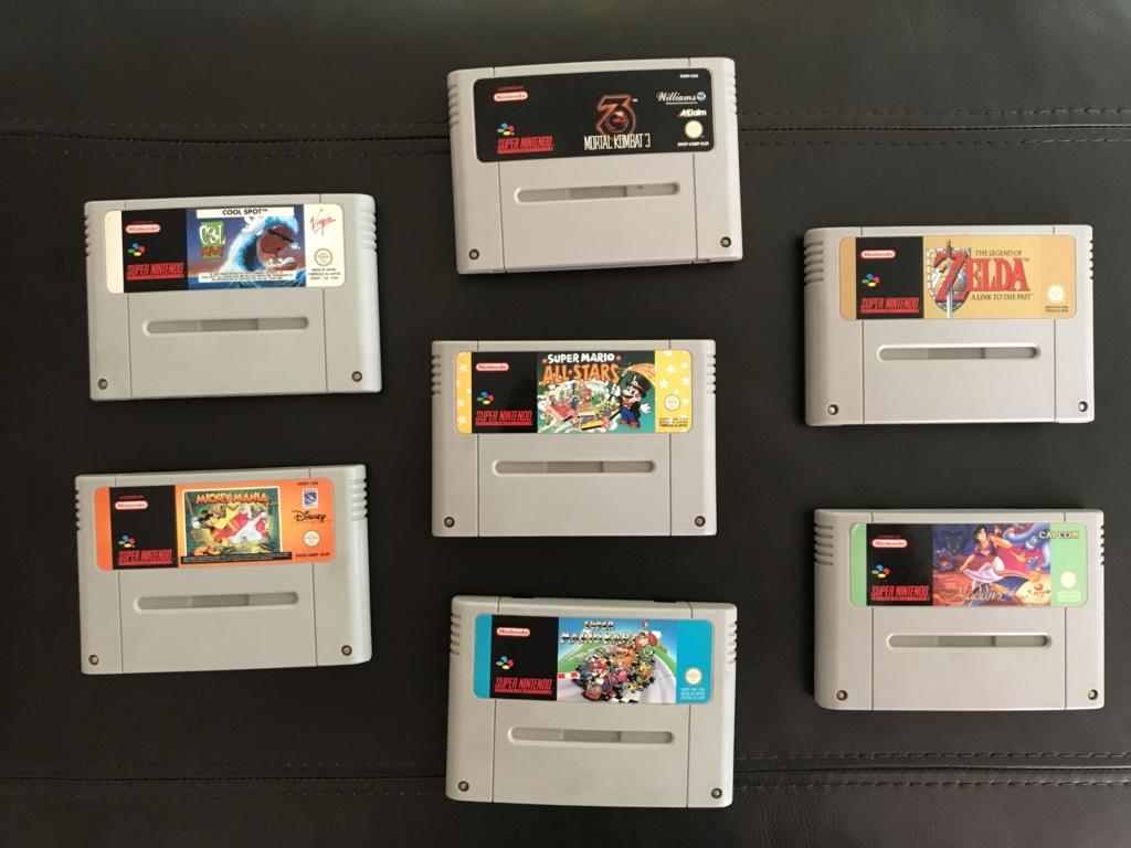 (ESTIM) Jeux Super Nintendo en loose Img_5313