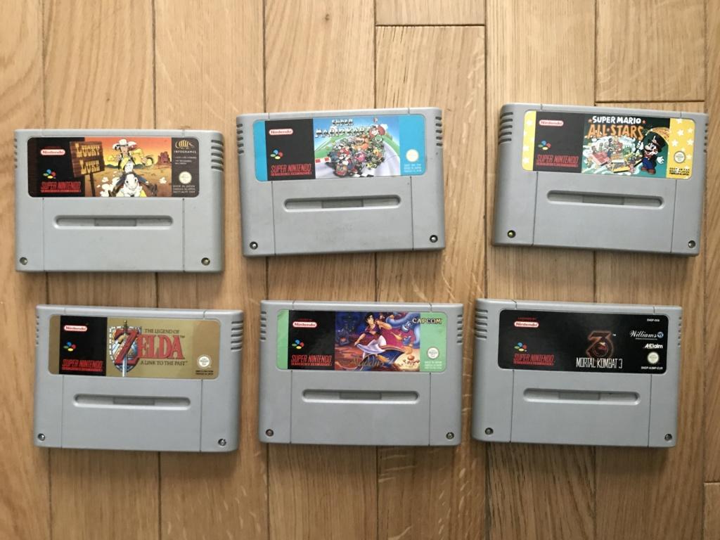 (VENDU)  jeux Super Nintendo en loose  Img_5410