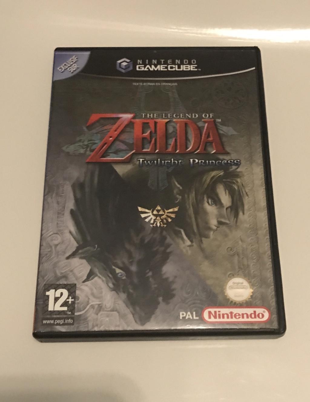 (VENDU) Jeu Gamecube Zelda Twilight Princess Img_6222