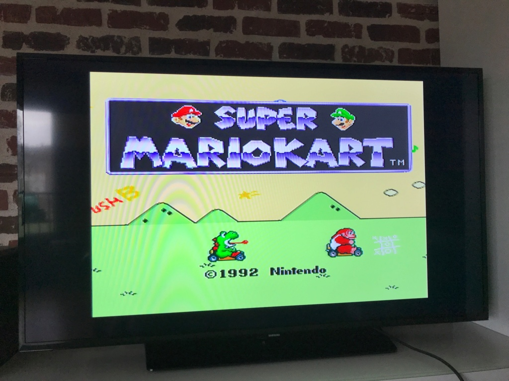 (VENDU) Super Nintendo + Mario Kart + Mortal Kombat 3 Img_6223