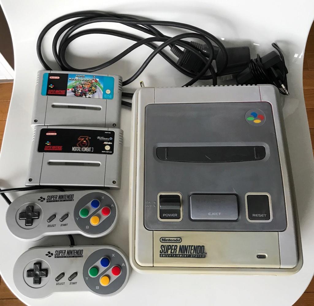 (VENDU) Super Nintendo + Mario Kart + Mortal Kombat 3 Img_6224