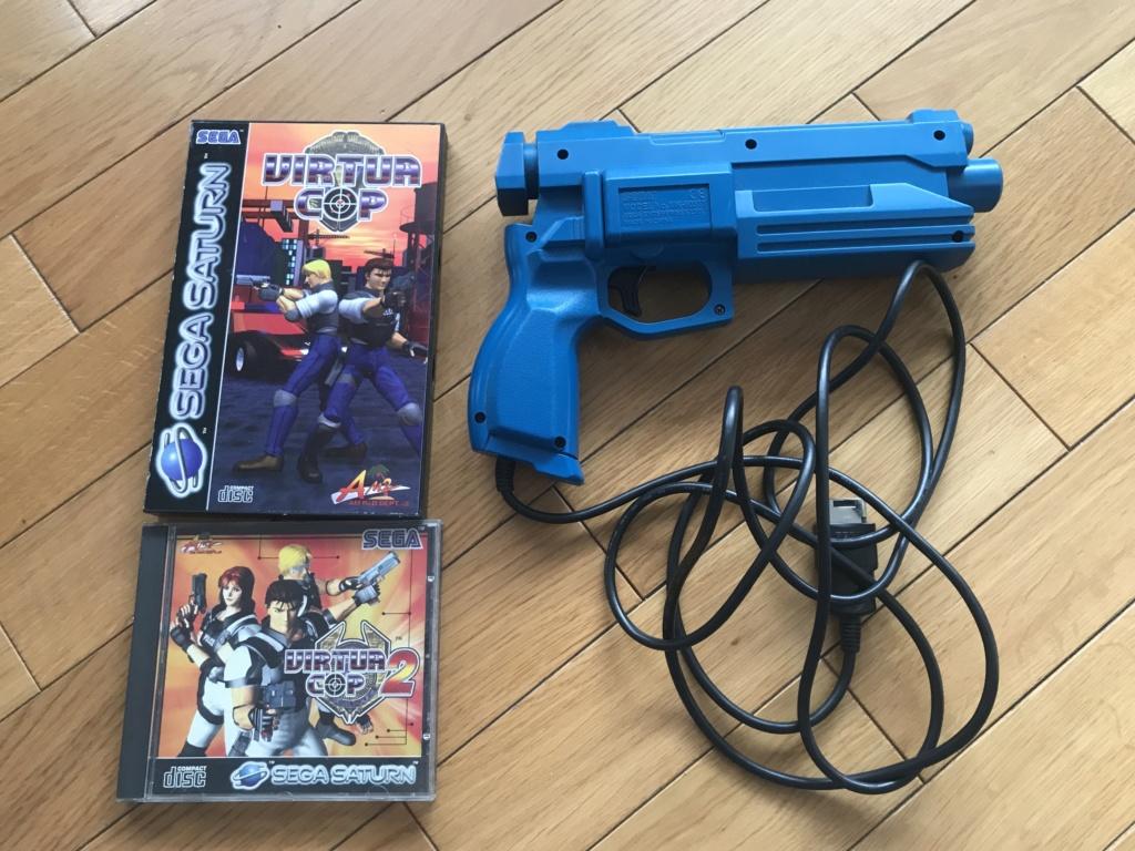 (VENDU) Virtua Cop 1 et 2 + Virtua Gun + Gun Predator SATURN Img_6418