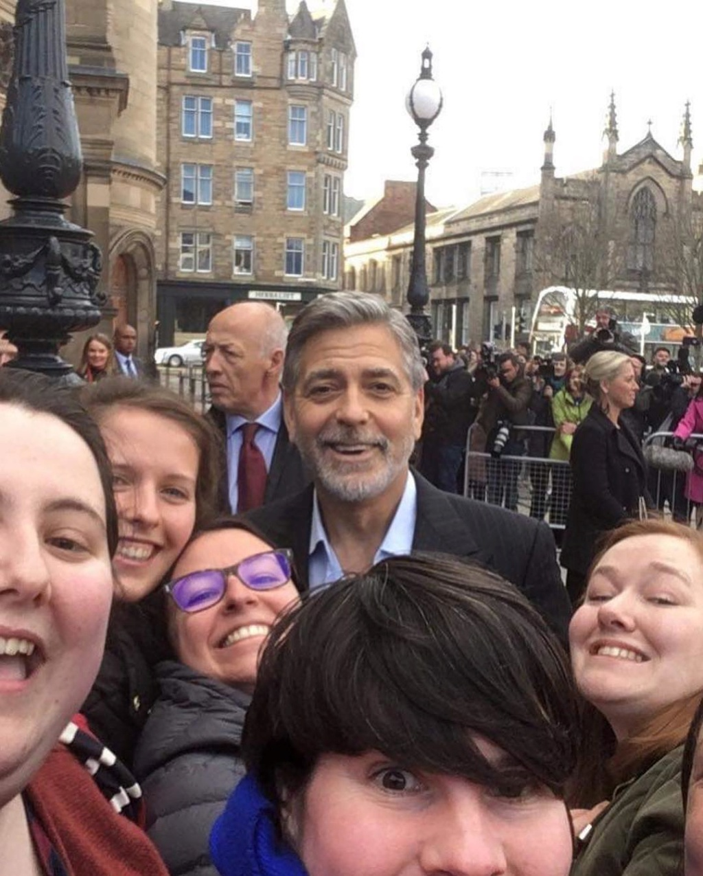 George and Amal in Edinburgh for the Postcode Lottery Gala Kimbo_10