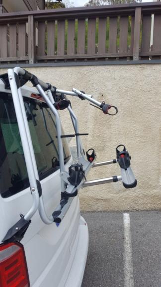 Vends Porte Vélo Fiamma Carry Bike T6 2 vélos 20190411