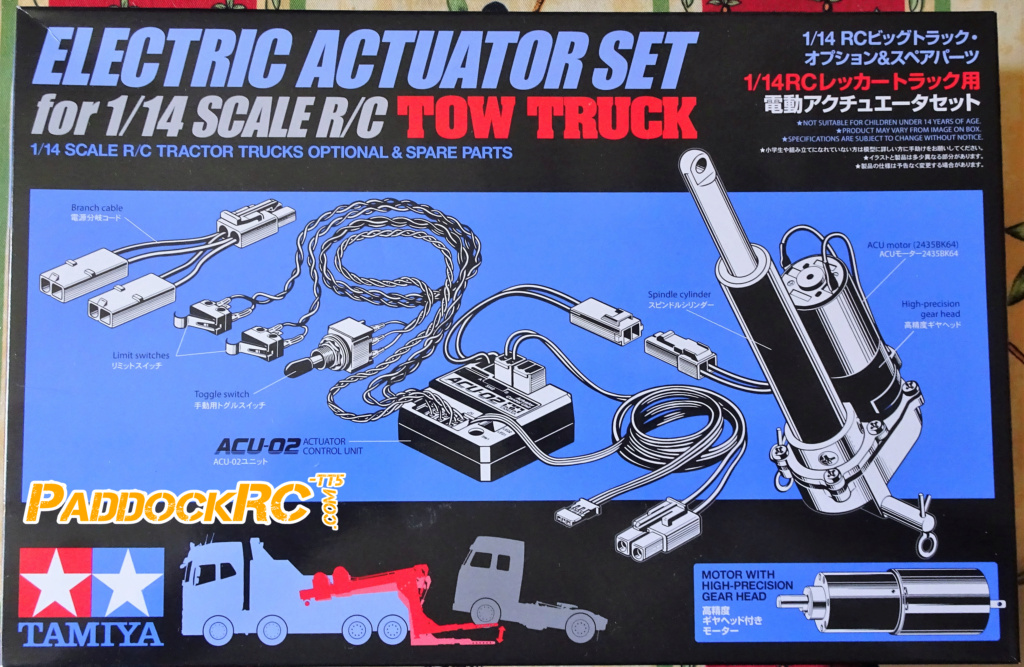 Camion Tamiya Volvo FH16 Globetrotter 750 8X4  Tow Truck 1/14 Imageo18