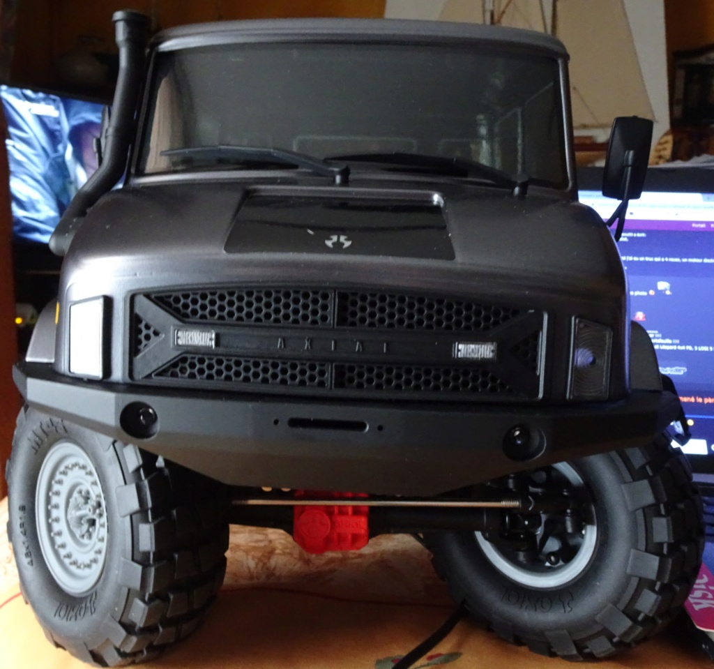 Crawler Unimog 6x6 Axial Umg110