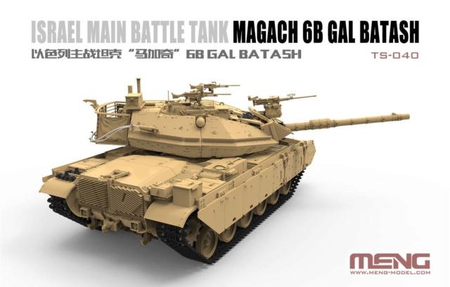 Israel Main Battle Tank Magach 6B GAL BATASH from Meng 42580210