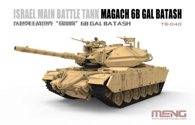 Israel Main Battle Tank Magach 6B GAL BATASH from Meng 42615210