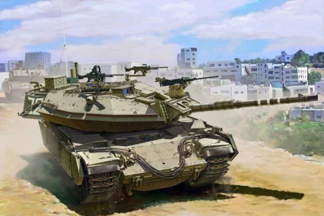 Israel Main Battle Tank Magach 6B GAL BATASH from Meng 42664110
