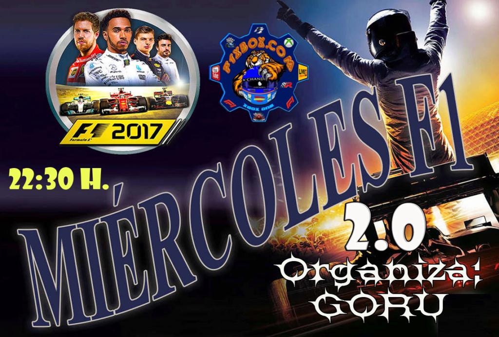 ¡ CAMPEÓN ! / F1 2017 / CAMPEONATO MIÉRCOLES F1- 2.0 - F1 XBOX / CAMPEÓN, PODIUM, CALENDARIO Y CLASIFICACIÓN FINAL.  Cabece11