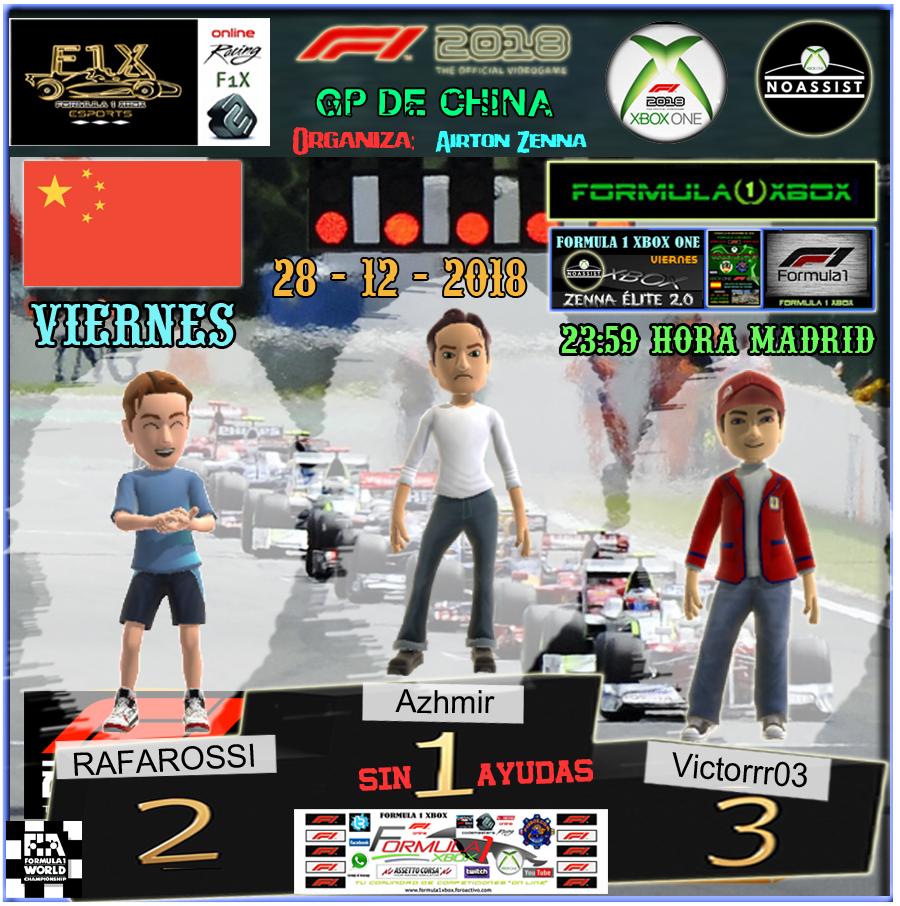 F1 2018 *** CAMPEONATO ZENNA ÉLITE 2.0 - F1X *** SIN AYUDAS *** VIERNES 23:59 HORA MADRID *** RESULTADOS Y PODIUM  GP DE CHINA / 28-12-2018. Podio_34
