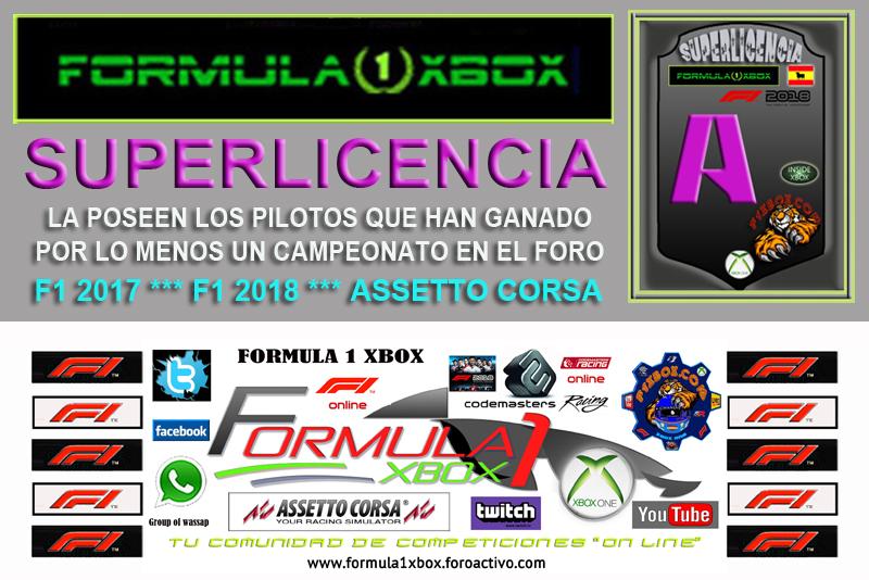 ¡ CAMPEÓN ! *** F1 2018 - XBOX ONE *** CAMPEONATO CAZAFANTASMAS 6.0 - F1X / CAMPEÓN, RESULTADO, PODIUM, CALENDARIO Y CLASIFICACIÓN FINAL.  Super106