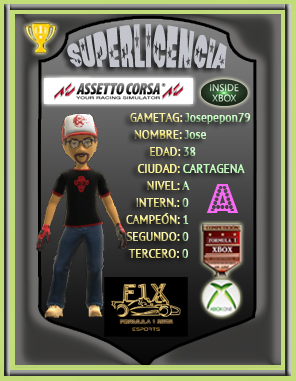 ¡ CAMPEÓN ! *** ASSETTO CORSA - XBOX ONE *** CAMPEONATO LAMBORGUINI HURACÁN GT3 - F1X / CAMPEÓN, RESULTADO, PODIUM, CALENDARIO Y CLASIFICACIÓN FINAL.  Super115