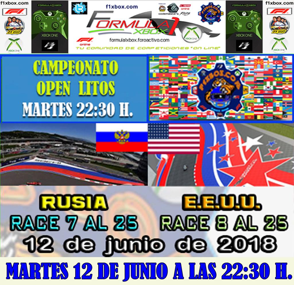 F1 2017 - XBOX ONE / CAMPEONATO LITOS OPEN - F1 XBOX / CONFIRMACIÓN DE ASISTENCIA G.P. DE RUSIA Y  E.E.U.U. /  MARTES 12 - 06 - 2018 / A LAS 22:30 H. Yiyiyi10