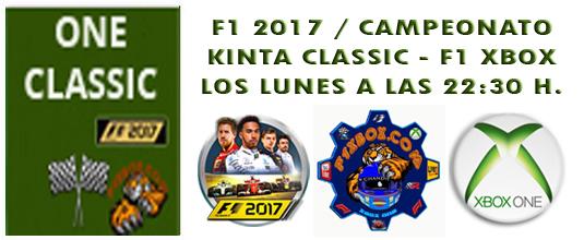 ¡ CAMPEÓN ! / F1 2017 / CAMPEONATO ONE CLASSIC - F1 XBOX / CAMPEÓN, PODIUM, CALENDARIO Y CLASIFICACIÓN FINAL.  Zzzzzz10