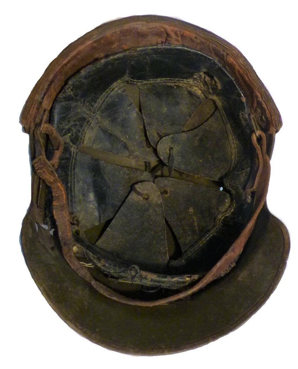 Casque DCA 36 du soldat Lafargue P1520637