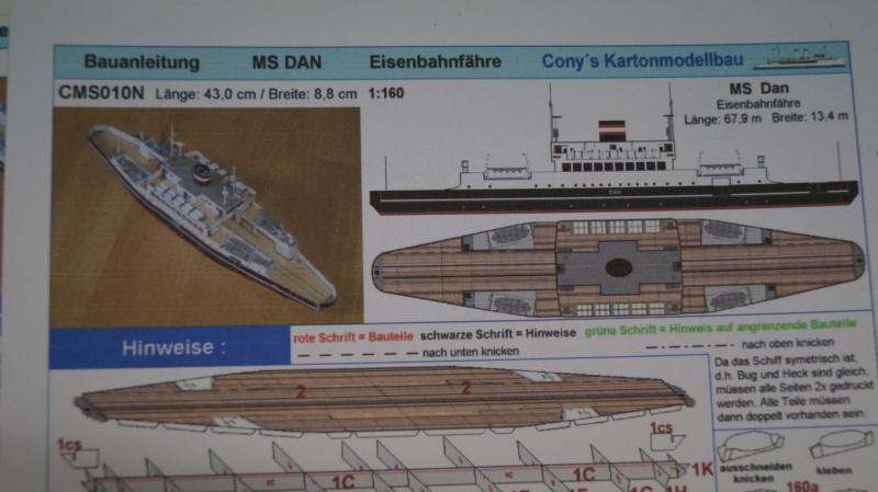 Die  Eisenbahnfähre MS DAN 1:160 gebaut von Günnie Dsc05910