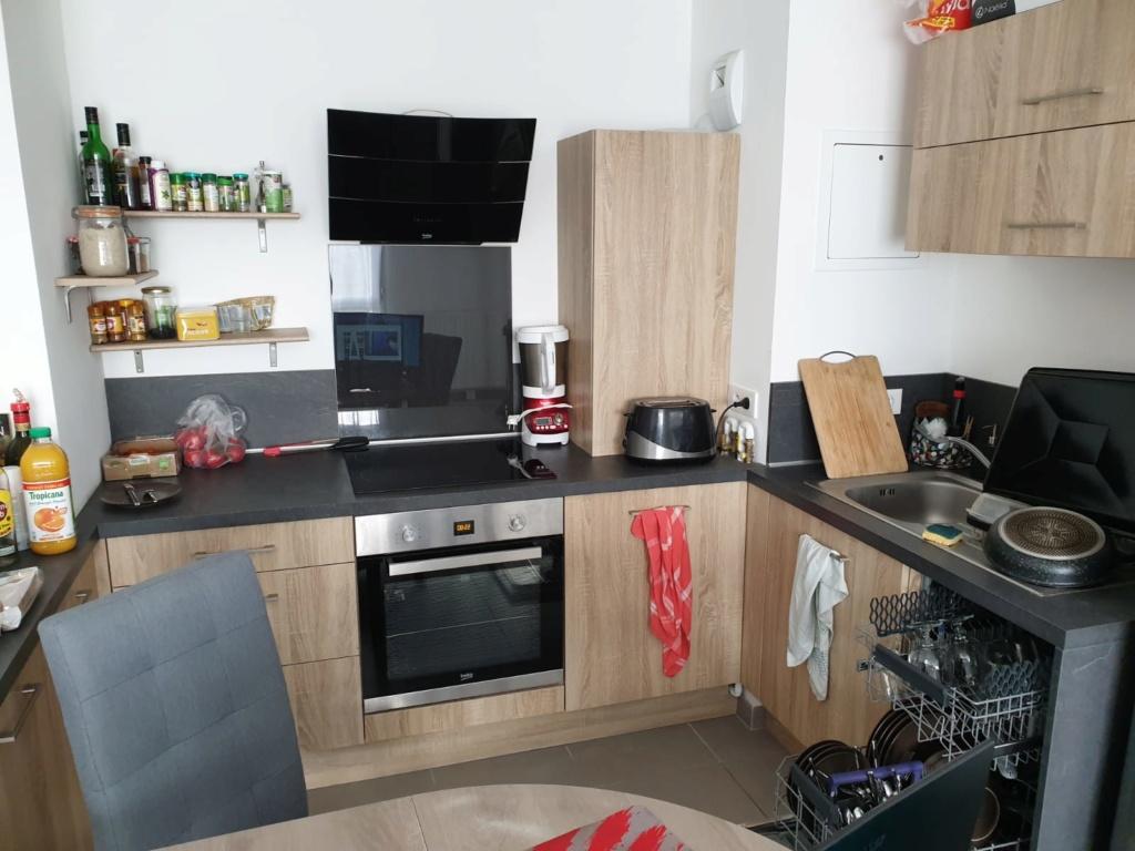 Rénovation cuisine / optimisation cellier dans un appart T2 + décoration Exempl10