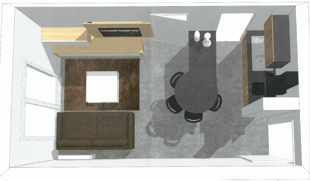 Rénovation cuisine / optimisation cellier dans un appart T2 + décoration Vu_du_10
