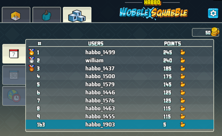 Prova il nuovo minigame Habbo Wobble Squabble Immagi21