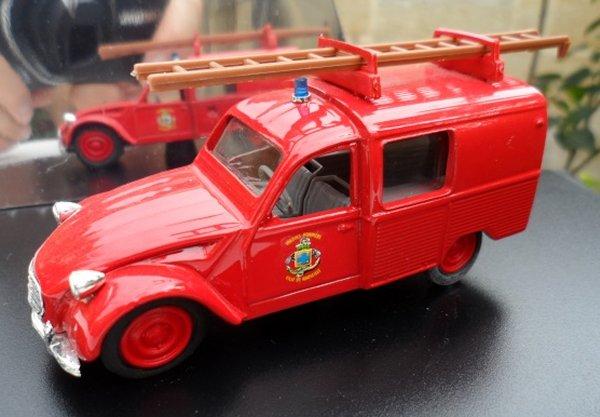 Décoration des pompiers Eligor et Norev Eligor11