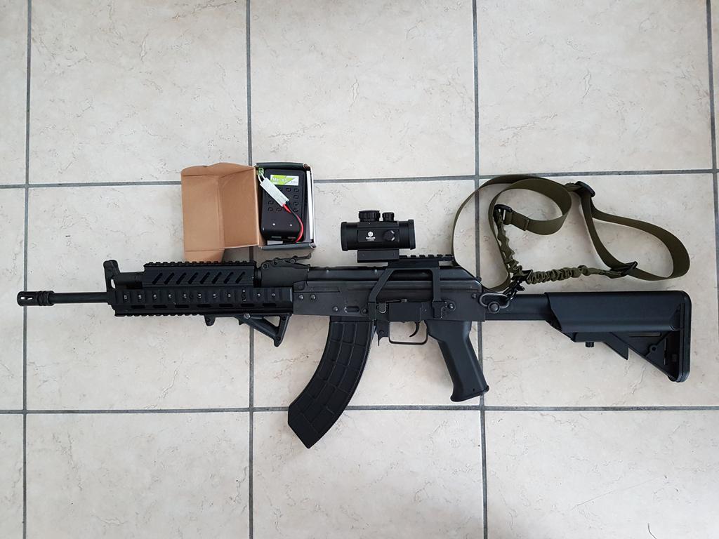 Vends LCT AKM style tactical toute équipée Mingnv10